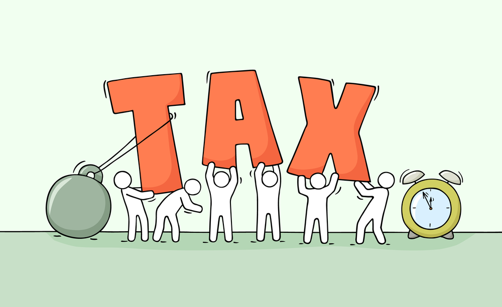 Social Media Steuern aufpassen